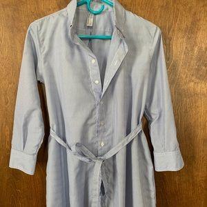 American Apparel button down tunic